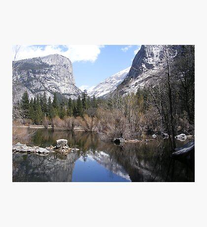 Mirror Lake ~ Yosemite National Park #2 Photographic Print