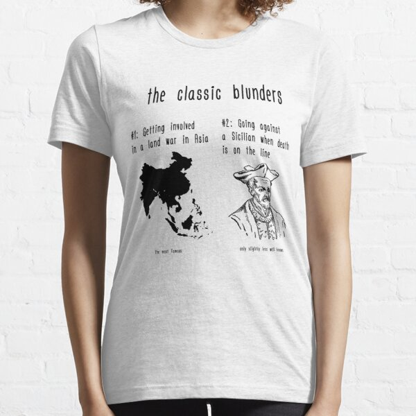 The Classic Blunders Essential T-Shirt