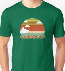 Camiseta unisex Turismo vintage - Galápagos