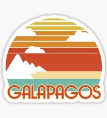 Weinlese-Tourismus - Galapagos Sticker