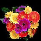 Happy flowers by bubblehex08