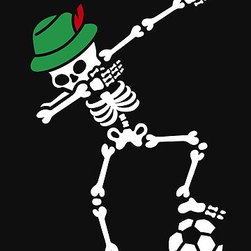 Dab dabbing skeleton Germany  by LaundryFactory