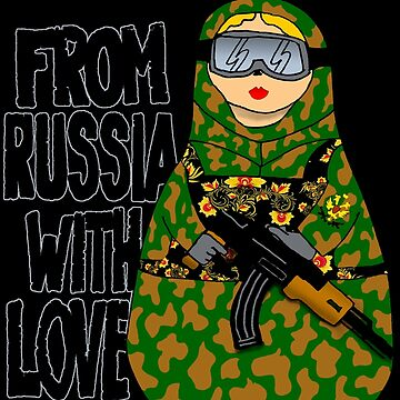 From Russia With Love NESTING DOLL by thesamba