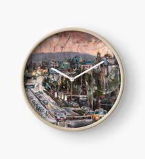 Friday Evening Clock