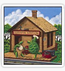 Grateful Dead Terrapin Station Album Art Sticker