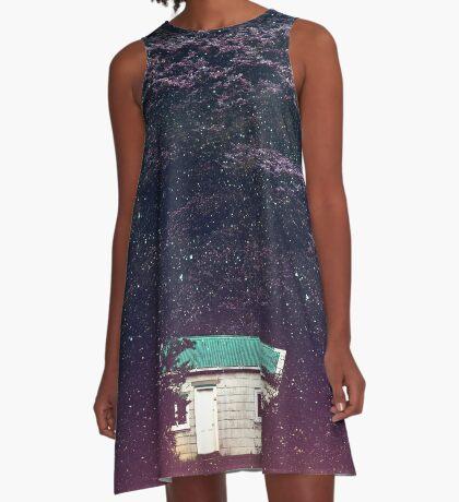Teeparty um 03:00 Uhr A-Linien Kleid