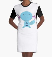 Cute Wooper Graphic T-Shirt Dress