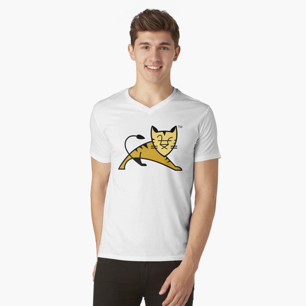 Apache Tomcat V-Neck T-Shirt