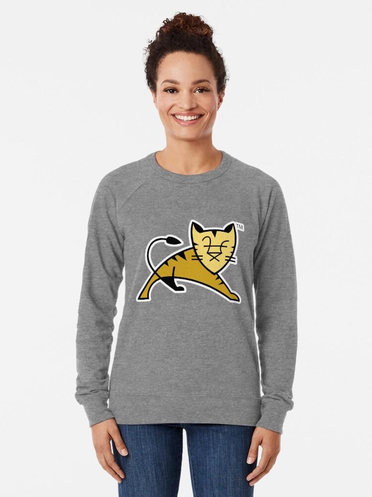 Alternate view of Apache Tomcat Lightweight Sweatshirt