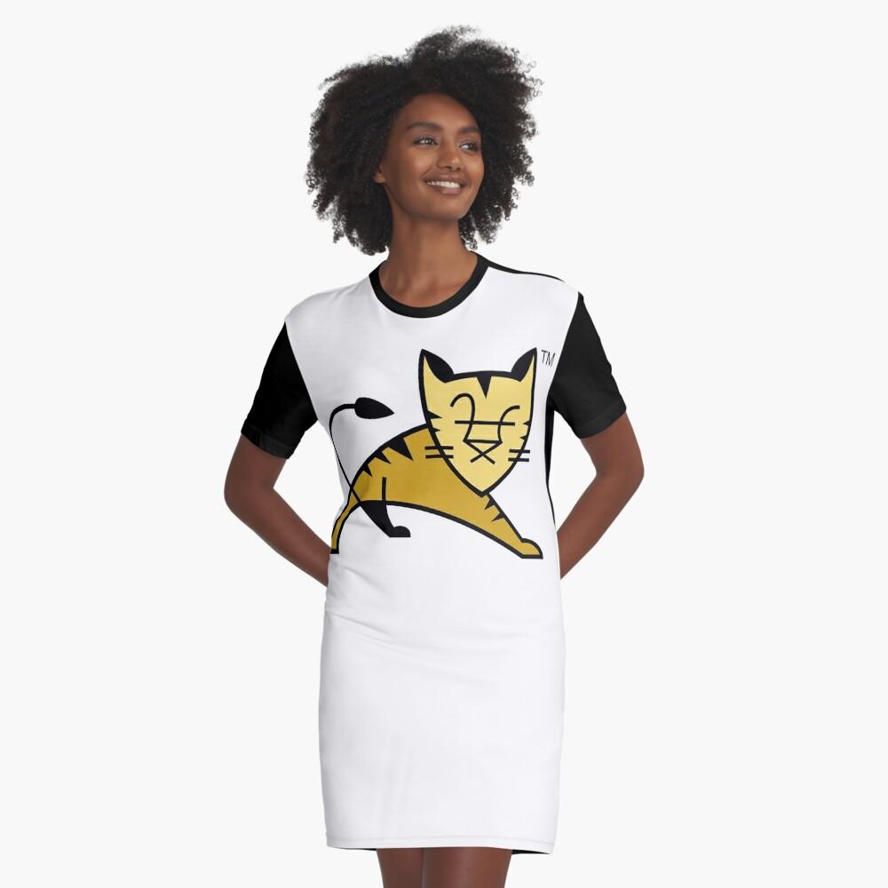 Apache Tomcat Graphic T-Shirt Dress