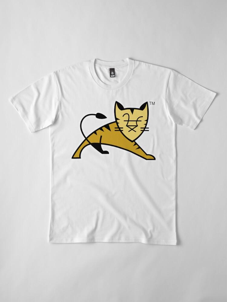 Alternate view of Apache Tomcat Premium T-Shirt