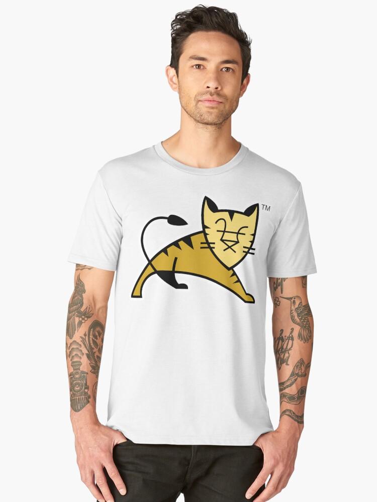 Apache Tomcat Men's Premium T-Shirt Front