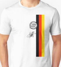 Vettel Helmet sig Unisex T-Shirt