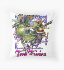 The Troll Fairy Trio Throw Pillow