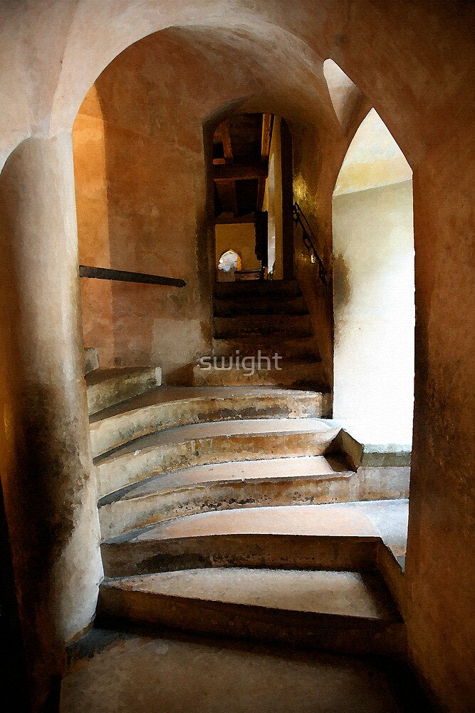 Rustics Stairs Part 2 by swight