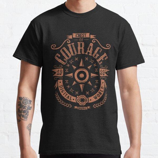 Crest of Courage - Greymon - Taichi Camiseta clásica