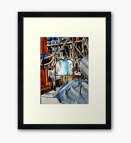 Eight Bells Framed Print