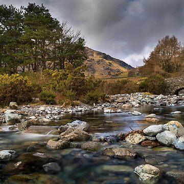 Cumbria Landscape by Lanas
