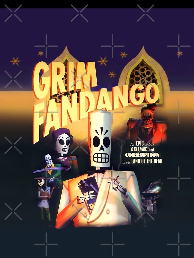 Grim Fandango (Hoher Kontrast) von hangman3d