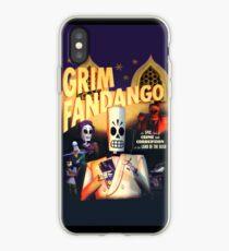 Grim Fandango (High Contrast) iPhone Case