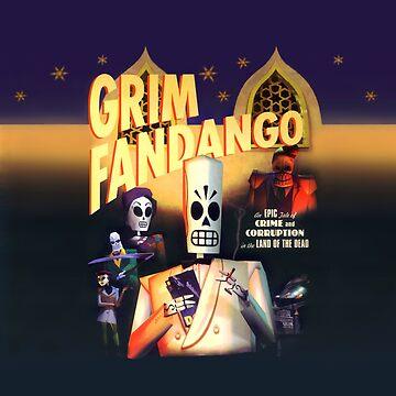 Grim Fandango (High Contrast) by hangman3d