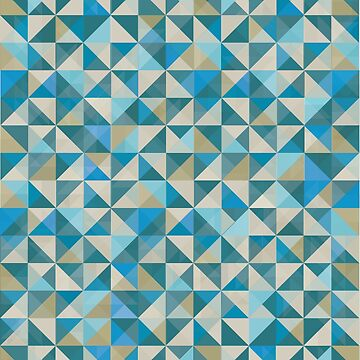 Blue Quilt Patchwork by jeastphoto