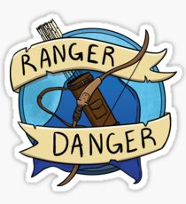 Dungeons and Dragons Ranger Badge Sticker