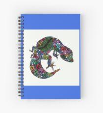Cuaderno de espiral Geco de flores