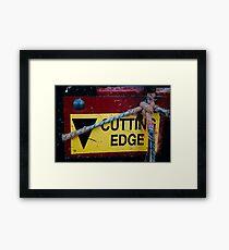 Cutting Edge - Farm Equipment Photograph Framed Print