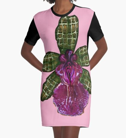 Pinque Purrfection Graphic T-Shirt Dress