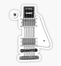 Les Paul FrontView Sticker