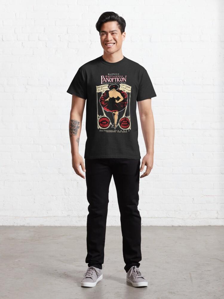 Alternate view of Panopticon design - Britannia Panopticon Classic T-Shirt