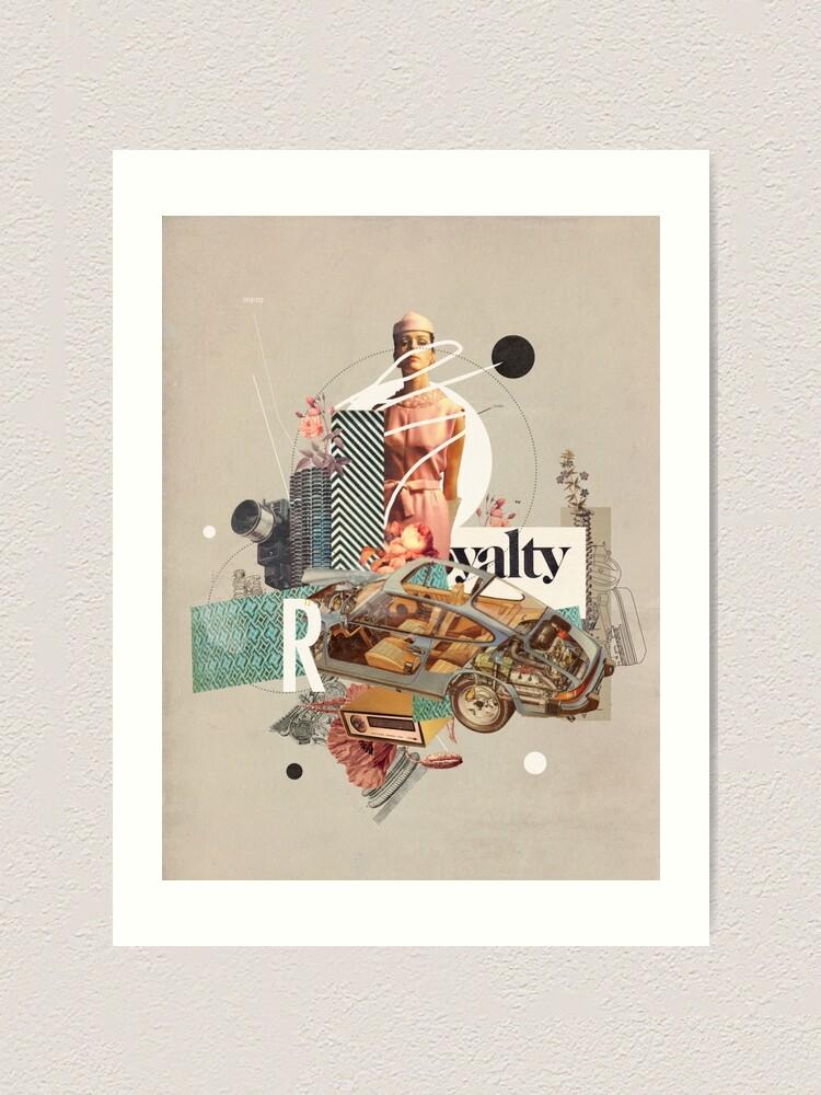Alternate view of Spirited Royalty Art Print