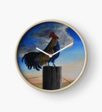 """Country Morning"" Clock"