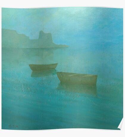 Blue Mist I Poster