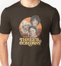 Camiseta ajustada Three's Company 1978 (angustiado)