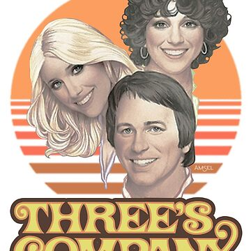 Three's Company 1978 (clean) by A-Game