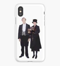 Baxter & Molesley - Downton Abbey iPhone Case