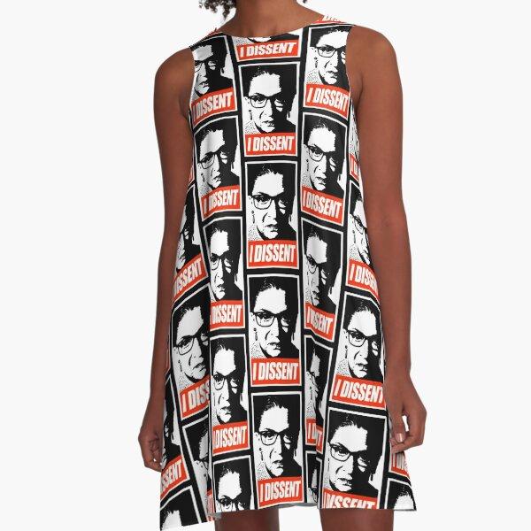 RBG - I Dissent A-Line Dress