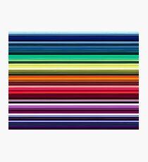 Colourful seamless velvet pattern - 7032 x 5274 px, 300 dpi Photographic Print