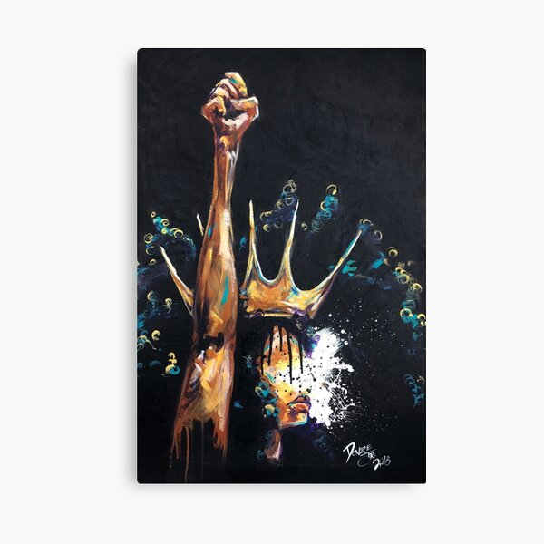 Naturally Queen Badu Canvas Print