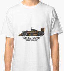 LOTUS 98T 1986  T-shirt classique