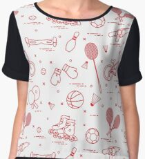 Equipment for sports activities for children. Chiffon Top