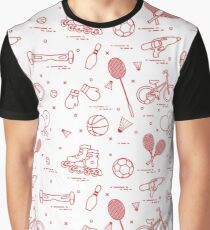 Equipment for sports activities for children. Graphic T-Shirt