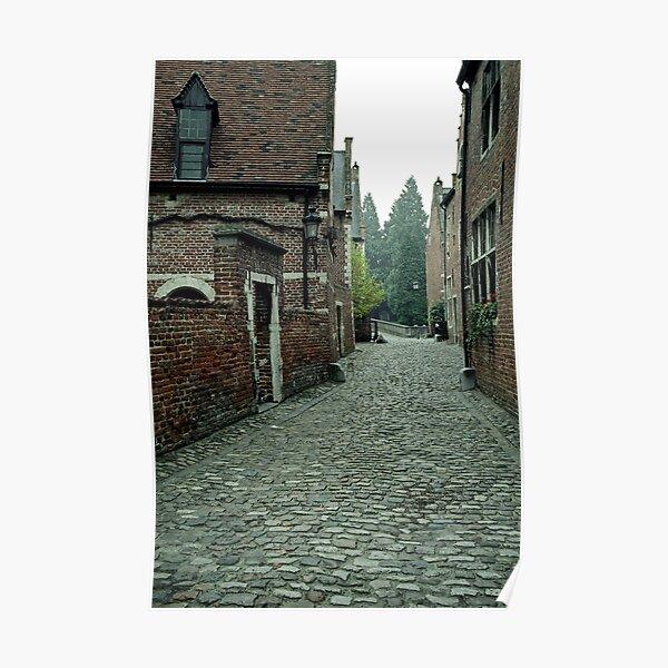 Groot Begijnhof, Leuven, Belgium Poster