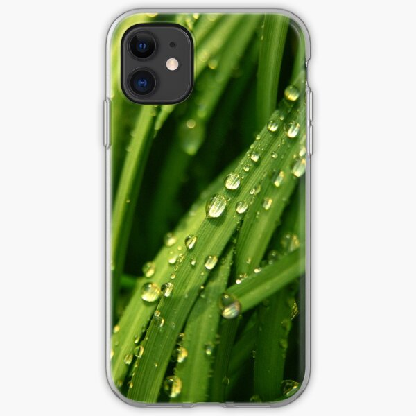 Green waterfall (iPhone case) iPhone Soft Case