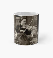 Hardanger fiddle player Mug