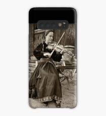 Hardanger fiddle player Case/Skin for Samsung Galaxy