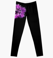 Dianthus (T-Shirt), dark, watercolor effect Leggings