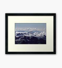 Heavenly view, Bernese Alps Framed Print